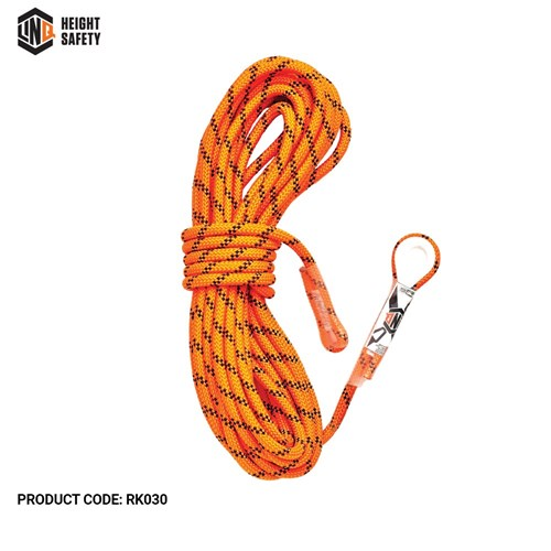 LINQ Kernmantle Rope with Thimble Eye & Termination 30M